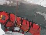 Manoeuvre de Secours Montagne GMSP Haute Savoie