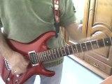 JOE SATRIANI ON BIG RUSH guitare cover