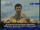 Discours de M. Ahmadinejad sur le sionisme