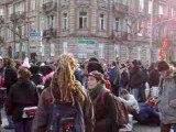 Sommet de l'Otan : manifestation à strasbourg