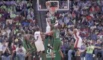 NBA Gerald Wallace Super Block  D-Wade at the rim.