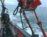 Pêche à la coquille Saint Jacques  baie de Saint Brieuc