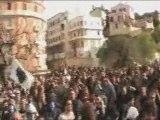 """Manifestation à Bastia """"Basta à a Ripressione"""""""