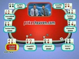 Poker Heaven Online Series of Poker - Final part 1