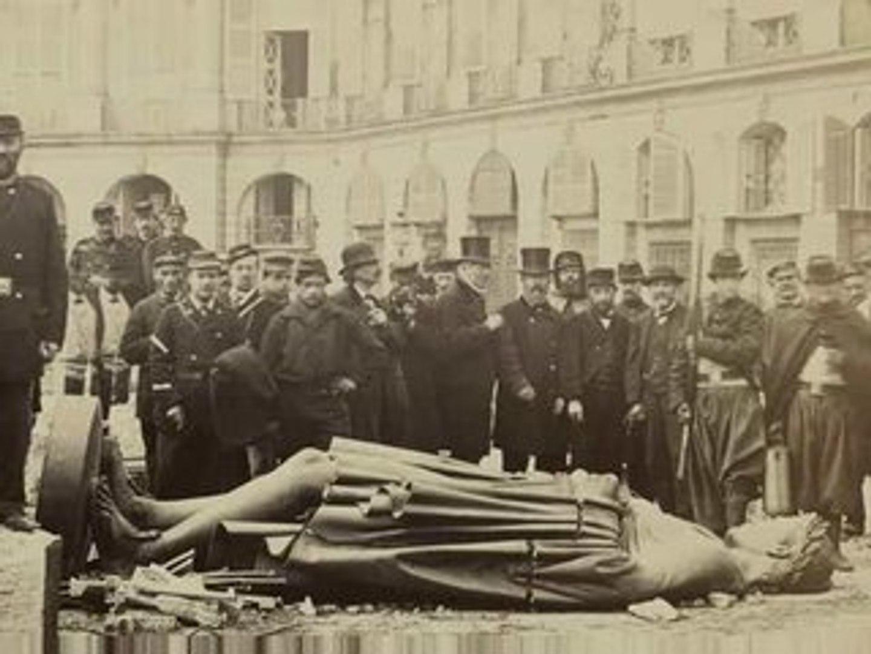 Gustave Courbet était-il place Vendôme le 16 mai 1871 ? - Vidéo Dailymotion