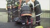 Fourmies -  Les pompiers interviennent dans une usine