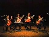 Simpsons by aranjuez guitar quartet