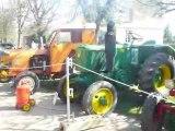 Démarrage tracteur