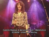 Camille bazbaz et adrienne pauly malediction hommage bashung