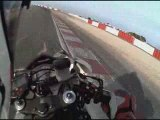 caméra embarquée moto LEDENON 2009 - POV