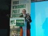 Mona Bras (UDB) - Europe Ecologie Brest avril 2009