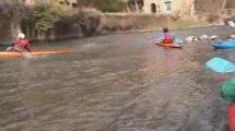 Sortie canoë-Kayak dans Les Alpes Mancelles