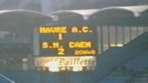 Le Havre 1-2 Caen  -  Ambiance Parckage Caennais