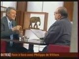 """Philippe de Villiers dans """"Ripostes""""  (1/2)"""