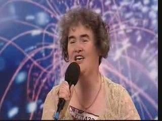 Susan Boyle - Singer - Britains Got Talent  2009