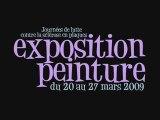 Exposition peinture Nafsep Mairie du 17ème