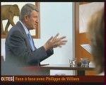 Philippe de Villiers dans l'emission Ripostes sur Fr5 (2/2)