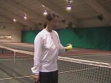 How to Hit Tennis Strokes Using the Net as a Positive
