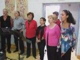 Chorale des chanteurs agglomérés à La Bouilladisse