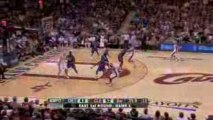 NBA LeBron James' first half against the Detroit Pistons in