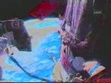 International Space Station Hoax : Space Walks in Water Pool