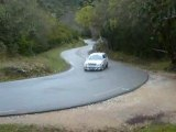 Rallye de venasque 2009 samedi AX sport n°110 teissedou
