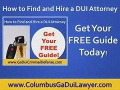 Columbus Ga dui Columbus georgia dui lawyer Columbus GA
