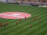 """PSG 3-0 LE HAVRE """" Le PSG pour l'échauffement """""""
