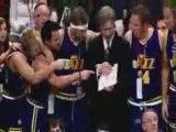 LeBron James game 1 vs Detroit Pistons 2009 NBA
