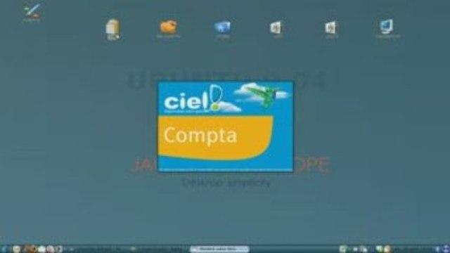 CIEL compta et Flash4 pour Windows sur Ubuntu avec Wine