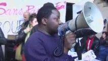 Travailleurs sans-papiers isolés - Conférence de presse (E)