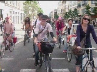 Vélorution à Nice