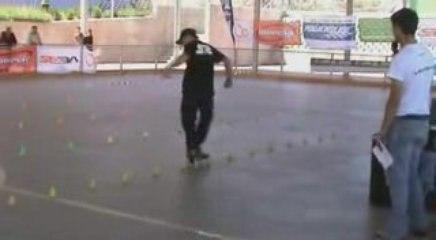 SlalomSkating en la Battle de Madrid 2009