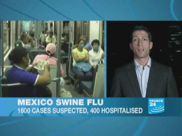 Mexico swine flu: epidemic scare empties streets