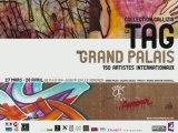 Le TAG au grand palais (graffiti, hiphop, rap, old school)