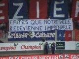 Tifo Béziers - Montauban Saison 2005/2006