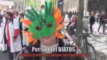 Manifestation étudiants chercheurs du 28 avril 2009
