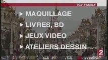 TGV Family par Disneyland Paris - Reportage du 13h de Fr2