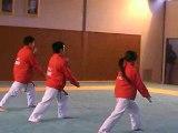 Démo équipe  vietnamienne de Taekwondo à Bagneux