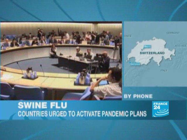Swine flu: risks assessment to phase5