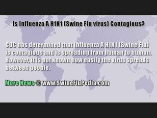 Is Influenza A H1N1 (Swine Flu) Contagious?