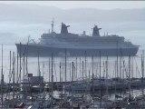 Escale du SS NORWAY à Ajaccio (Corse) 6 octobre 2001