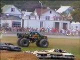 décollage monster truck