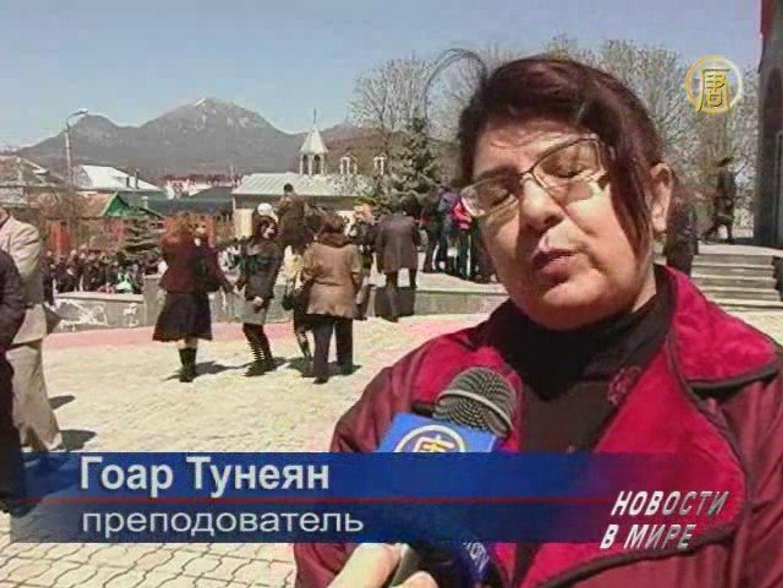 Армянский народ почтил память репрессированных