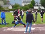 Athlé Mael 1er essai 1er tour Interclubs 2009 lancer poids
