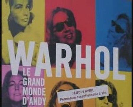 Andy Warhol s'expose au Grand Palais
