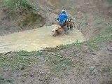 moto noyer dans l eau
