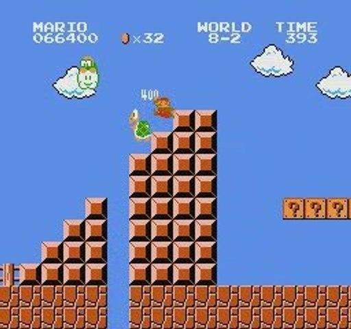 """Super Mario Bros (NES, Eur.) tool-assisted speedrun, 5'21"""""""
