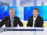 Interview de Jean Barrat, tête de liste DLR, sur Fr3 Orléans