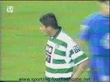 Sporting - 4 Leiria - 1 de 2001/2002